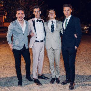 I rappresentanti d'Istituto per l'anno scolastico 2017-2018 sono stati (da sinistra): Kristian Cuci, Riccardo Perrero, Radu Balan, Vittorio Appino