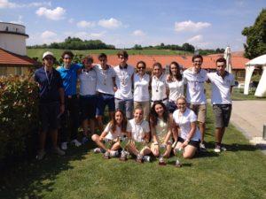 Squadra di golf del Moro