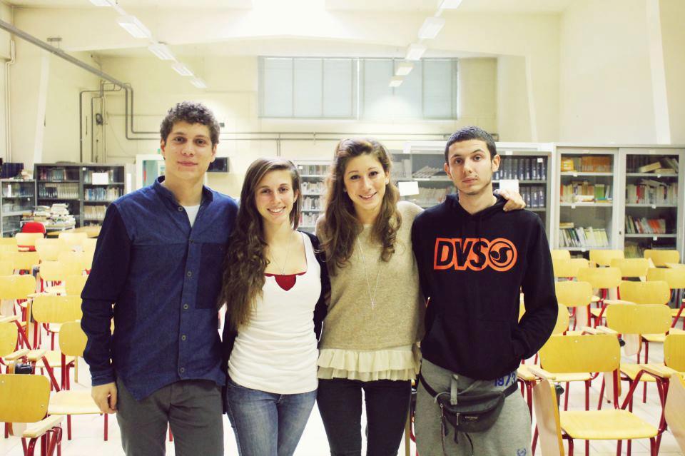 I rappresentanti d'Istituto per l'a.s. 2012-2013 sono stati: Nicolò Marchesi, Chiara Ghiani, Egle Beani e Alberto Coriasso
