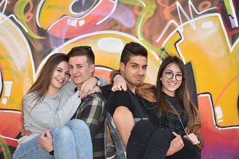 I rappresentanti d'Istituto per l'anno scolastico 2015-2016 sono stati (da sinistra): Matilde Francisca, Iacopo Vicini, Manuel Palmieri e Gaia Patriarca