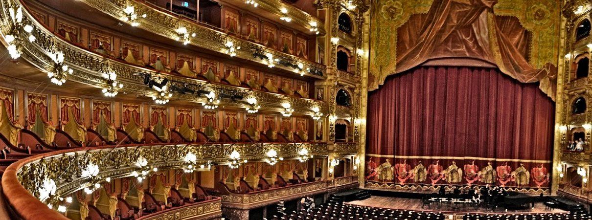 Foto platea teatro