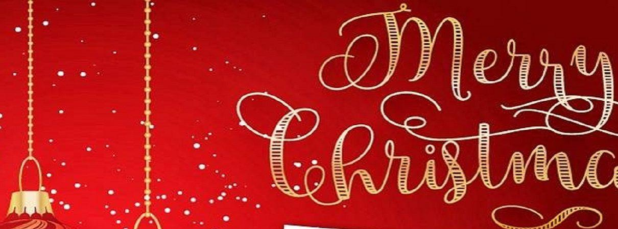 Scritta Merry Christmas