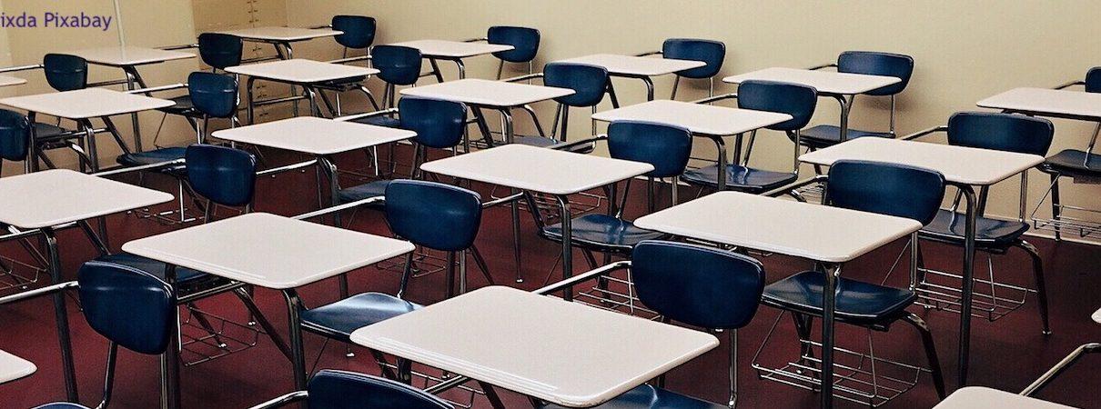 Classe vuota empty classroom