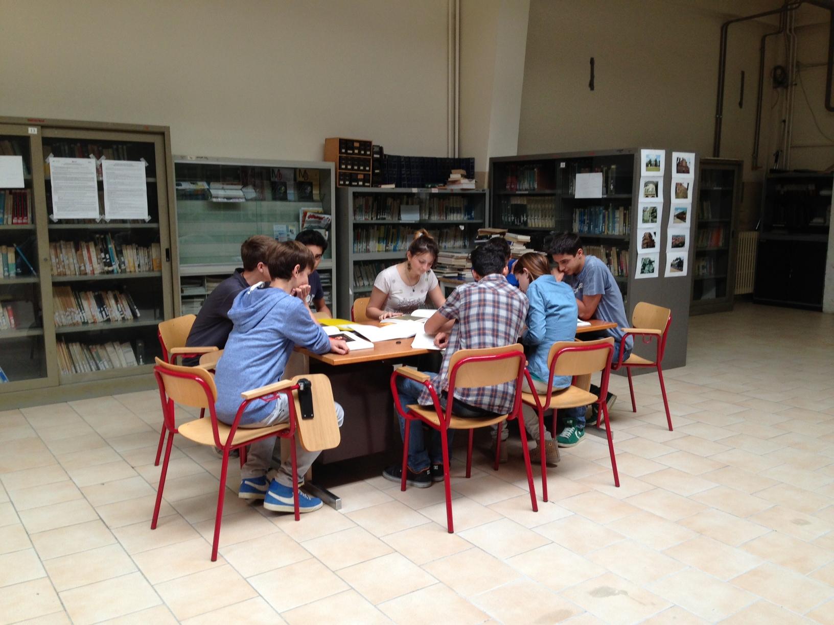 La biblioteca intitolata aAldo Moro