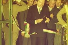 Inaugurazione in presenza dell'Onorevole Giulio Andreotti